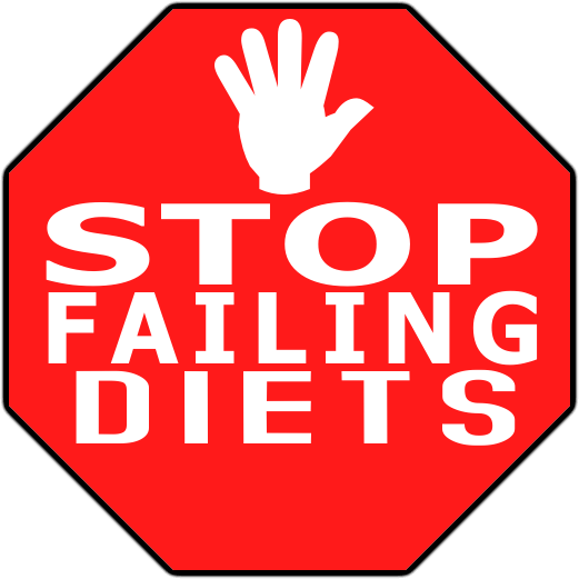 stop failing diets image